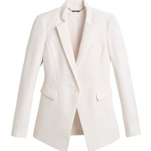 WHBM professional cream blazer NWT size 6